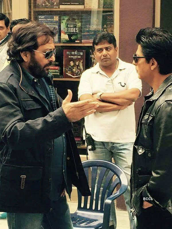 Dilwale: On the sets
