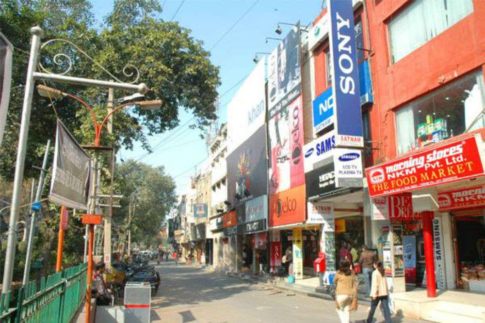 Greater Kailash I, N Block Market