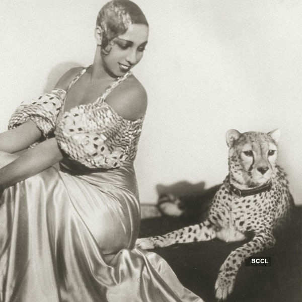 Multi-talented Josephine Baker was so courageous that she kept a cheetah