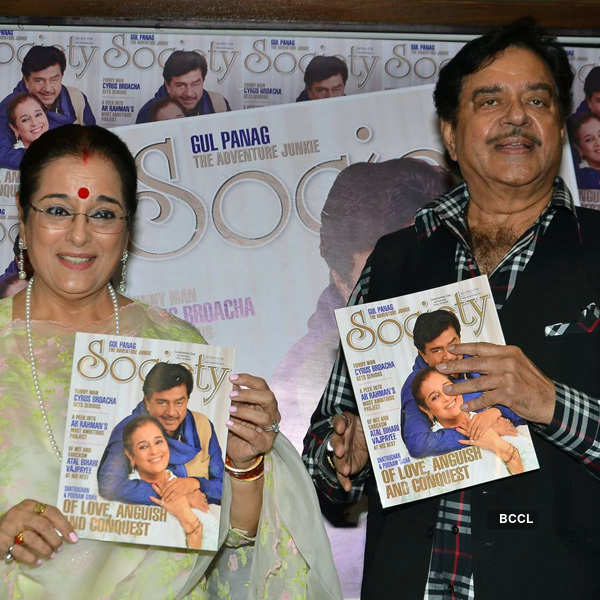 Shatrughan, Poonam @ Magazine launch