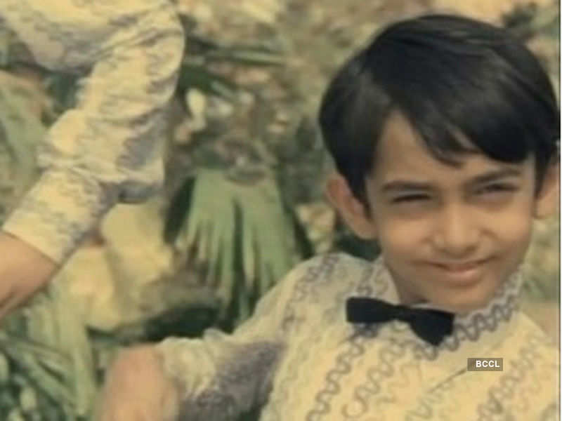 Check out Aamir Khan in his childhood pic