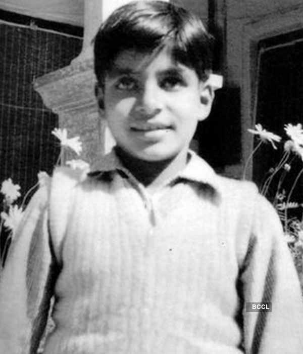 Amitabh Bachchan childhood photos