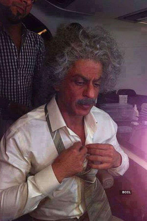 Check out Shah Rukh Khan as Albert Einstein