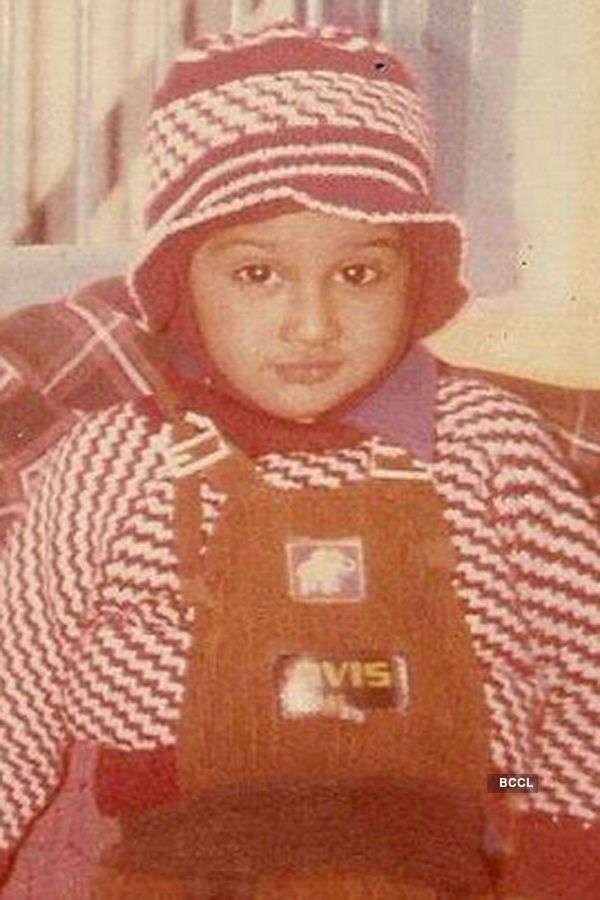 Picture of little Yo Yo Honey Singh