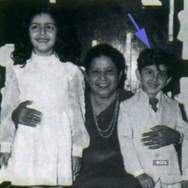 Check out Hrithik Roshan in his childhood