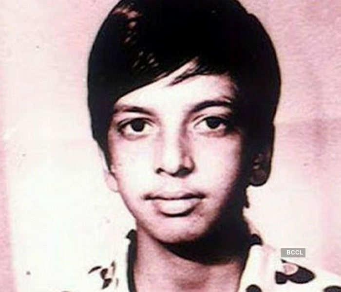 Jaaved Jaffrey childhood photos