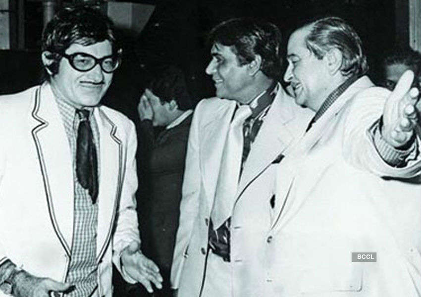 Check out the rare pic of Bollywood's three legends
