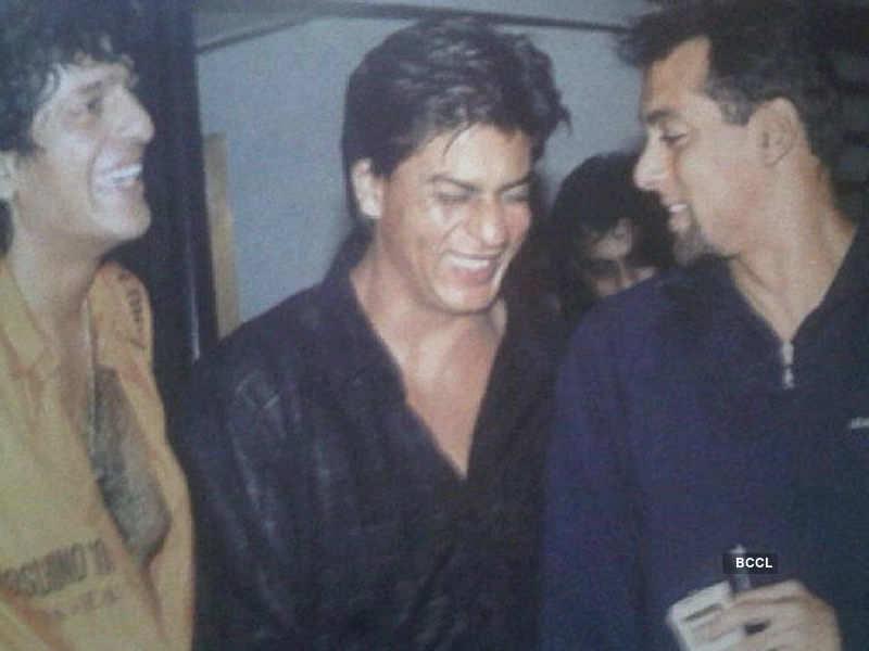 Check out Shah Rukh Khan's rare pic with Salman Khan