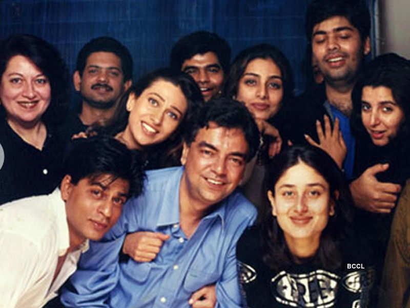 Check out Shah Rukh Khan, Karisma Kapoor, Tabu, Khalid Mohamed,