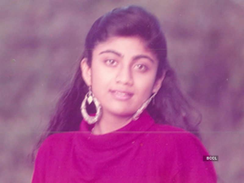 Old photo of Shilpa Shetty