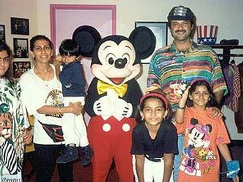 Anil Kapoor's family photos