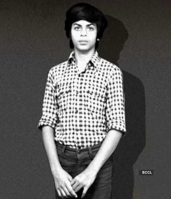 Shah Rukh Khan looks cute