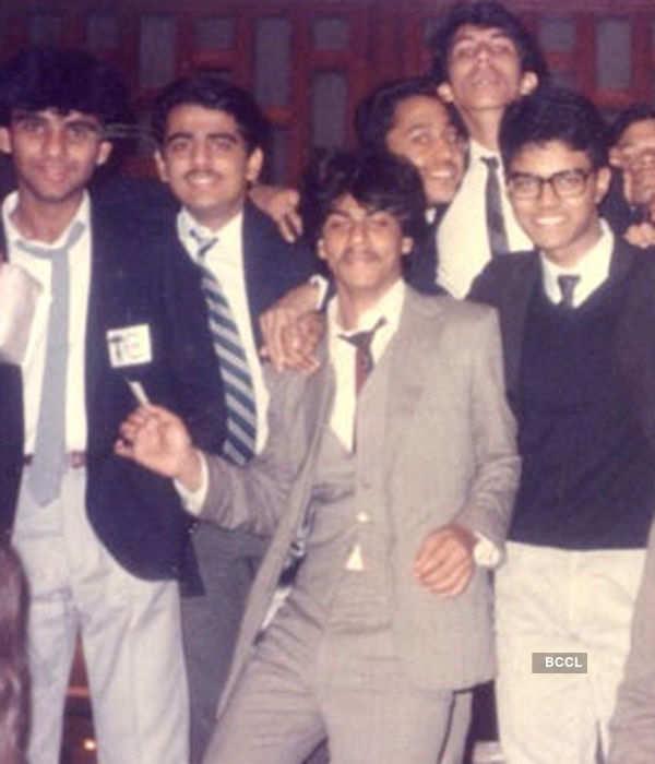 Shah Rukh Khan's school days photograph