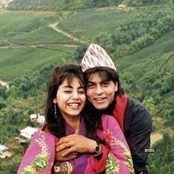 Shah Rukh Khan, Gauri Khan's honeymoon photo
