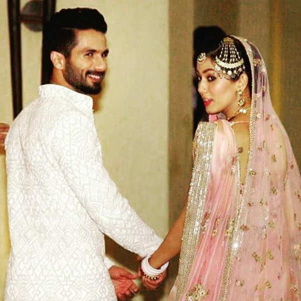 Unseen pictures from Shahid Kapoor and Mira Rajput's wedding