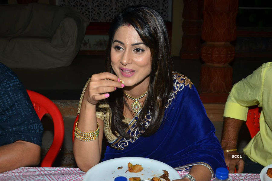 Ye Rishta Kya Kehlata Hain cast @ Iftar party