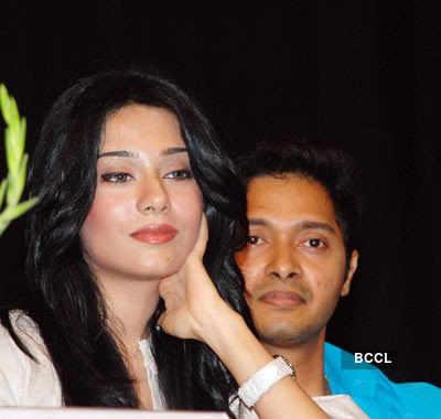 Shreyas with Amrita Rao