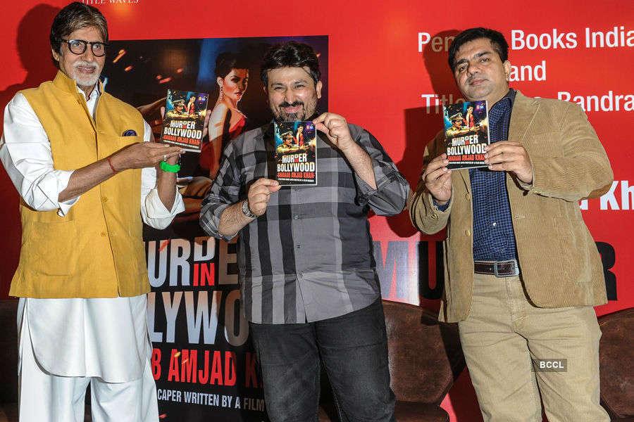 Amitabh @ a book launch