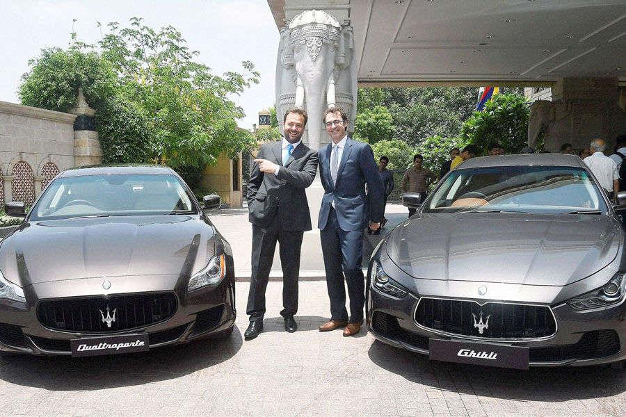 Luxury Maserati models