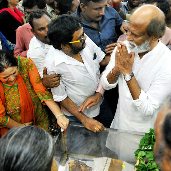 Rajinikanth pays homage to M.S. Viswanathan