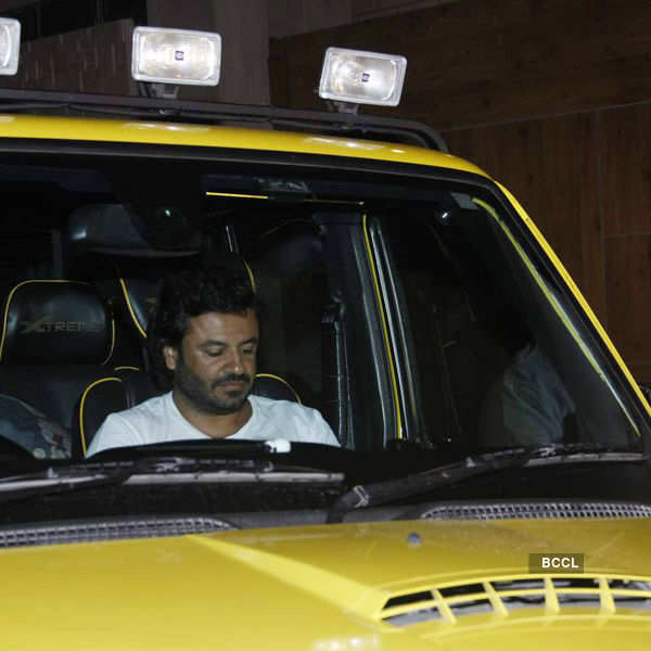 Vikas Bahl arrives for the birthday party