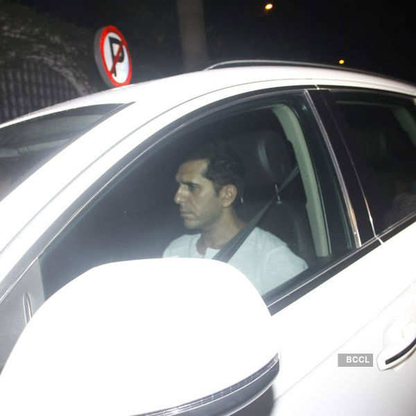 Ritesh Sidhwani arrives for the birthday party