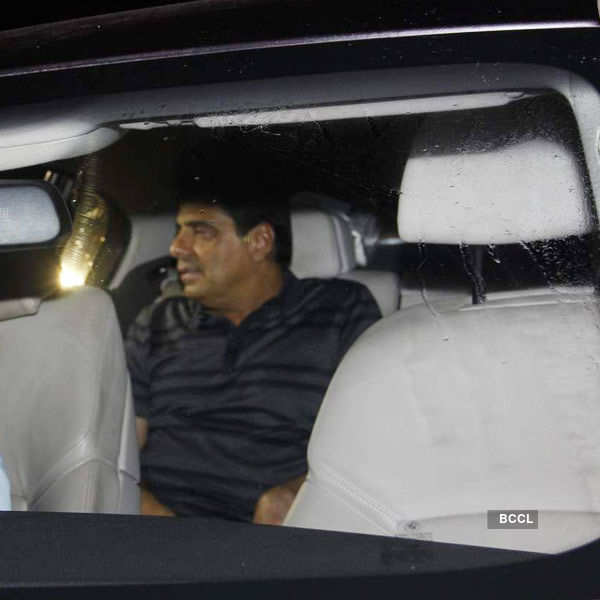 Ronnie Screwvala arrives for the birthday party of Priyanka Chopra