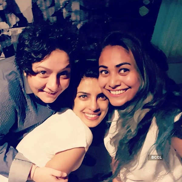Priyanka Chopra with friends