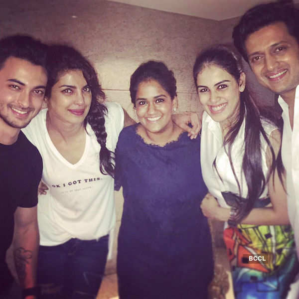 Priyanka Chopra's b'day party