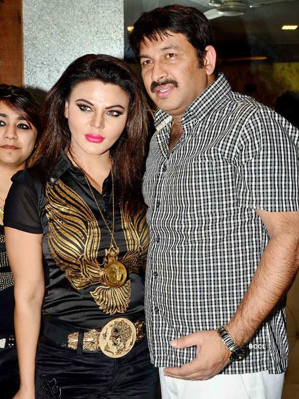 Ravi Kishan's b'day party