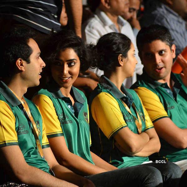 Celebs @ Pro Kabaddi League 2015