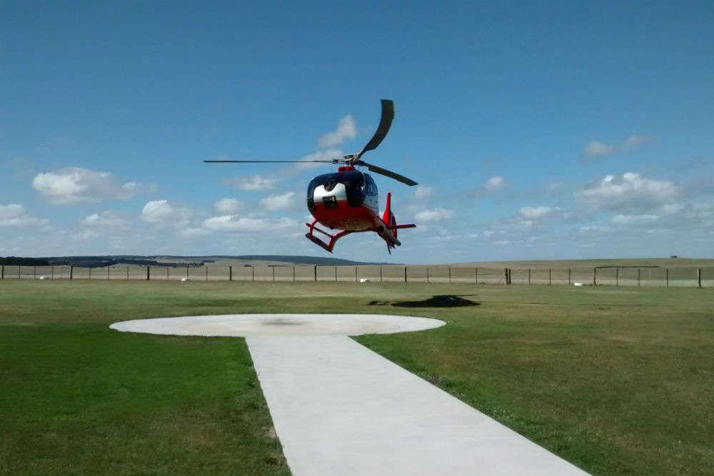 Chopper tour