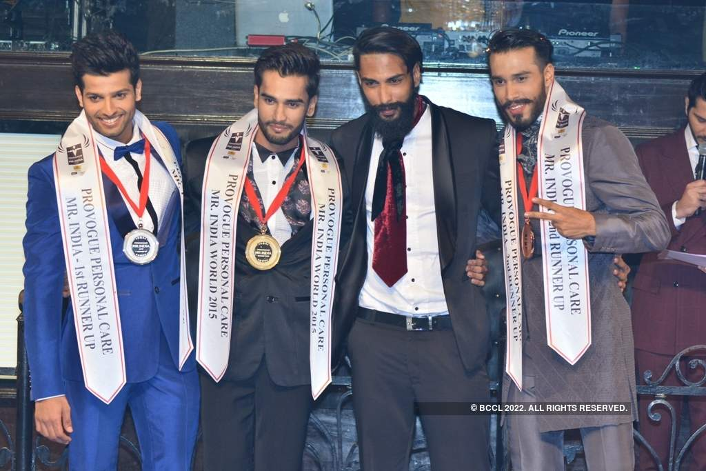 Provogue Personal Care Mr India 2015: Winning moments