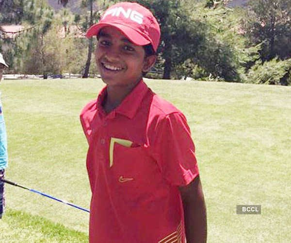 Shubham wins second junior world golf title