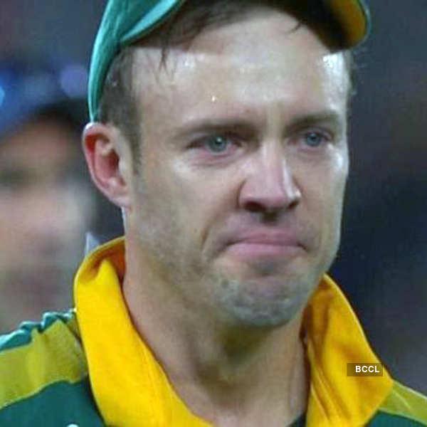 Heartbreaking moments in sports