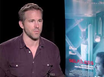 Selfless: Ryan Reynolds interview