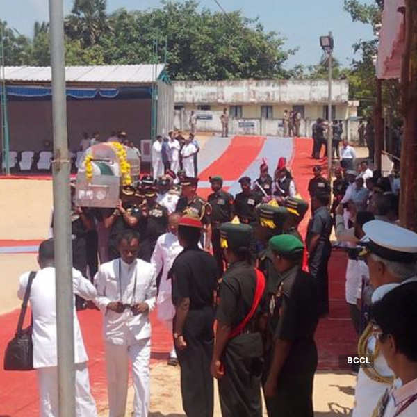 Abdul Kalam's final journey