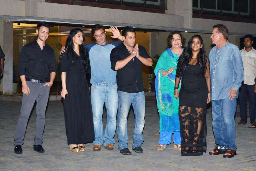 Arpita Khan Sharma's b'day party