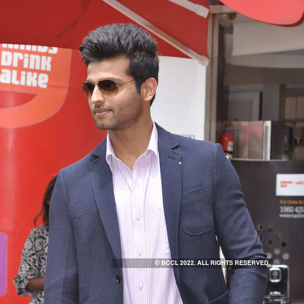 Mr India first runner-up Rahul's homecoming