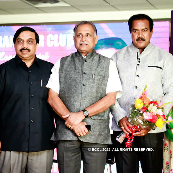BNS Reddy's felicitation