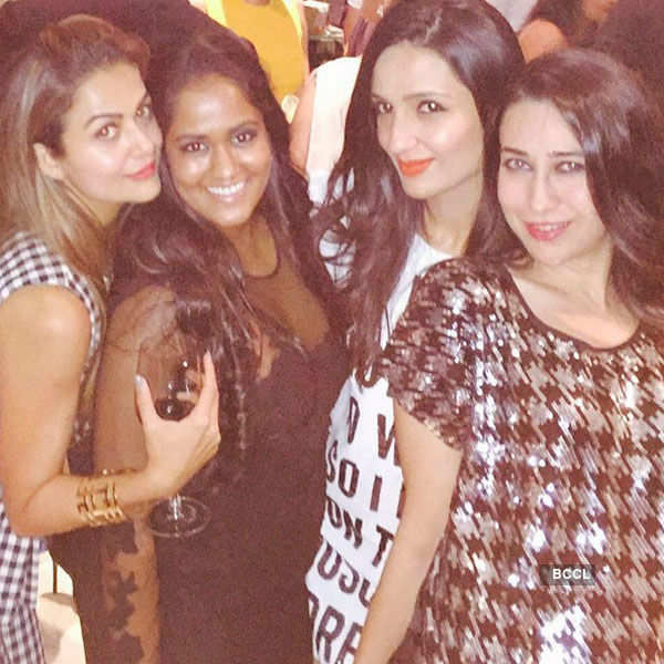 Arpita Khan Sharma's b'day party