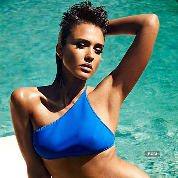 American model-actress Jessica Alba
