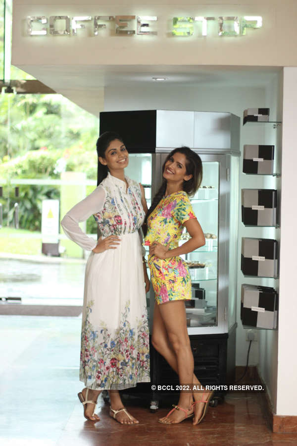 Miss Indias' savoury treat in Colombo
