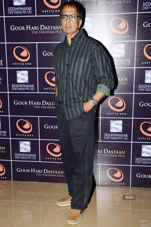 Gour Hari Dastaan: Screening
