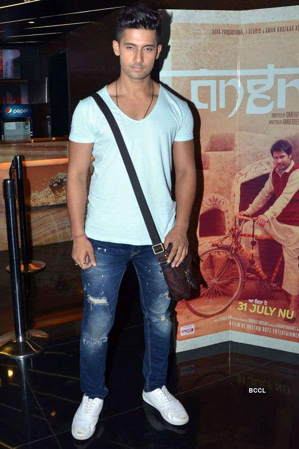 Ravi Dubey's film screening