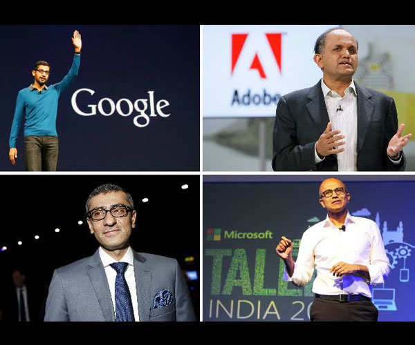 Meet 10 Indian-origin CEOs of global tech giants