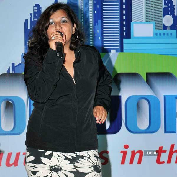Singer Bhavya performs live
