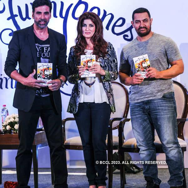 Twinkle Khanna's book launch