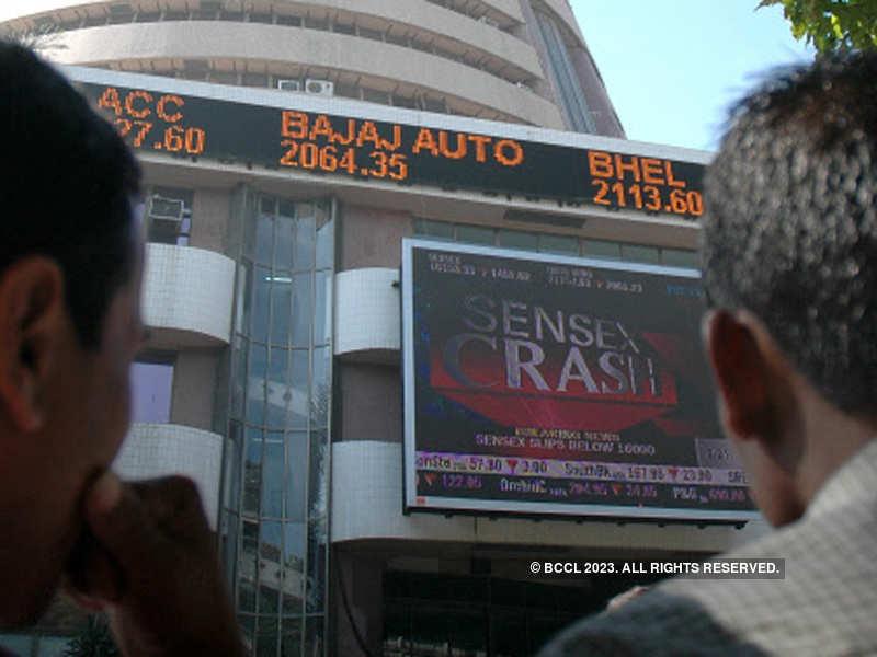 Sensex extends losses, down 110 points