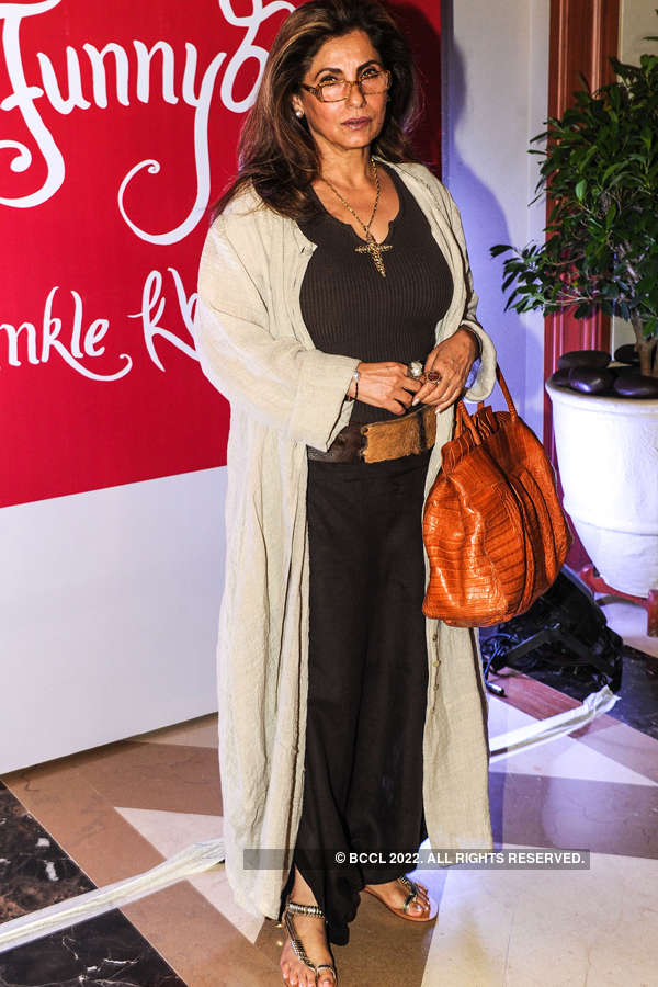 Twinkle Khanna's book launch